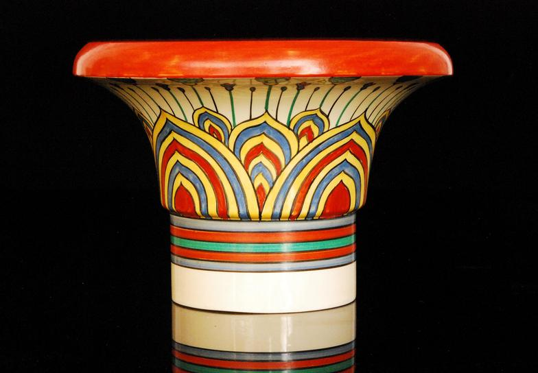 Fieldings Auctioneers Ltd Clarice Cliff Archaic A Shape 373