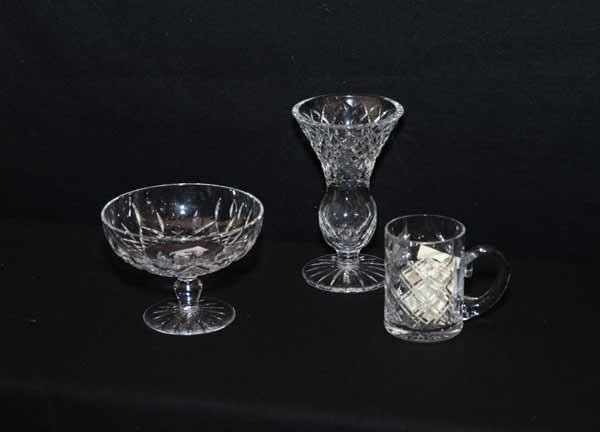 Mcafee Auctions A Waterford Crystal Comport Tyrone Crystal Vase