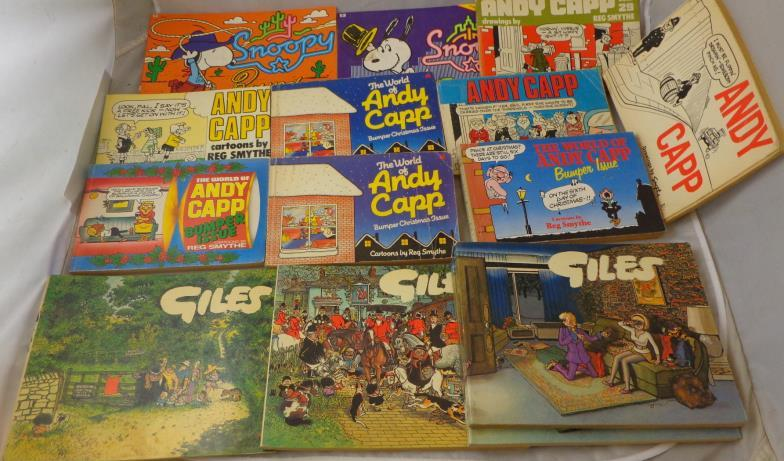 kent auction galleries ltd books andy capp snoopy giles