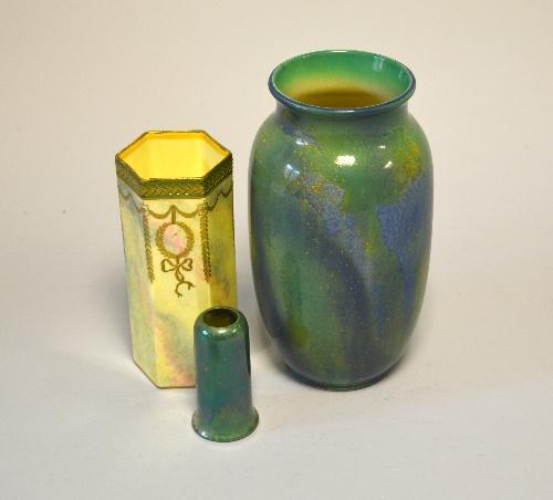 Richard Winterton Auctioneers Three Royal Doulton Vases To