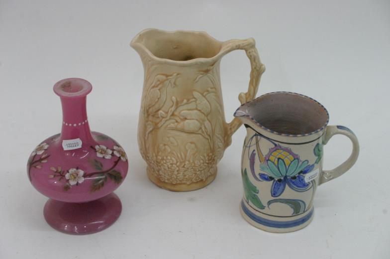 Staceys Auctioneers And Valuers An Early Honiton Jug Arthur Wood