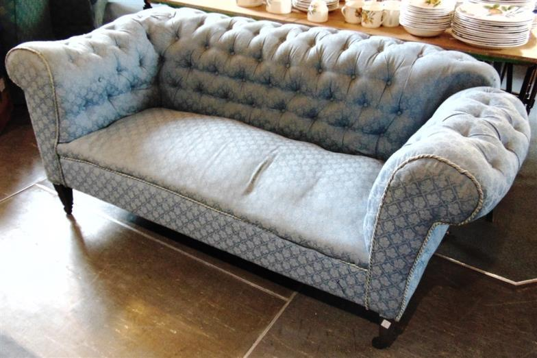 Greenslade Taylor Hunt An Edwardian Drop End Chesterfield Sofa On