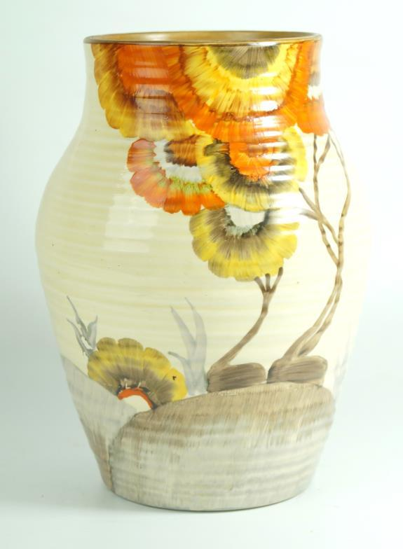 Wright Marshall Knutsford A Clarice Cliff Bizarre Vase Of