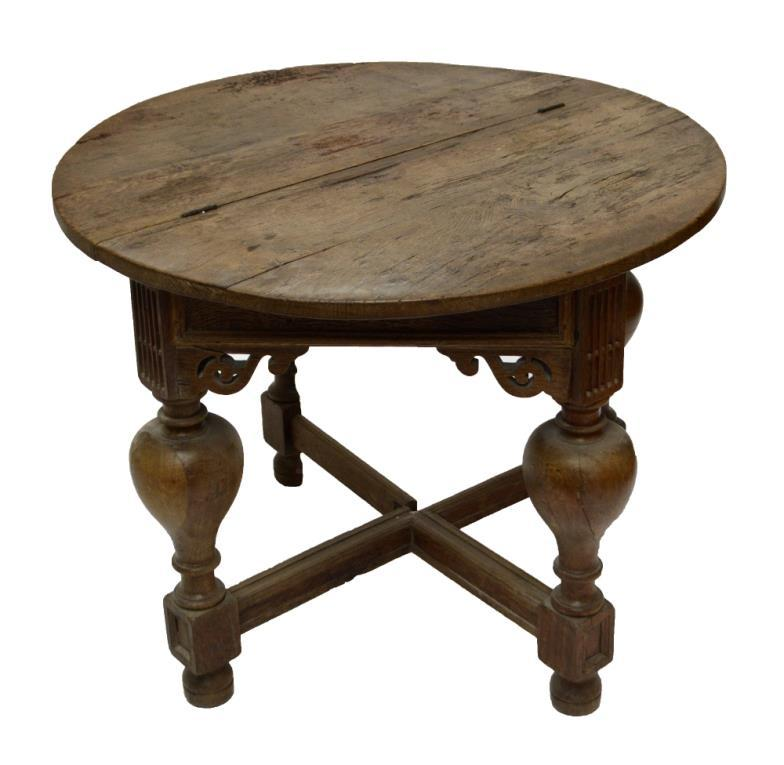 adam partridge auctioneers valuers a circular foldover table