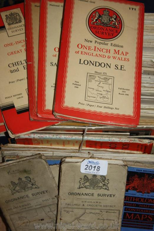 Nigel Ward Co Sale A Box Of Old Maps Road Maps AA And - Old maps for sale online