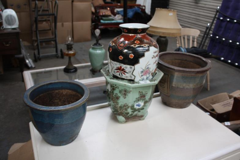 Chrystals Auctions Collection Of Pots And Vases At Peel Road