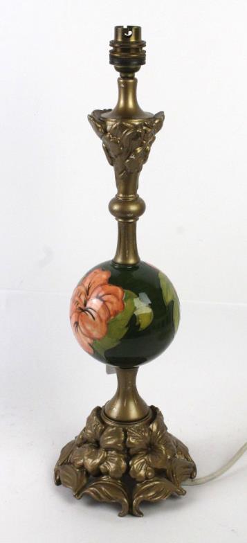 Wright marshall knutsford a walter moorcroft table lamp with wright marshall knutsford a walter moorcroft table lamp with circular ceramic online auction catalogue aloadofball Images