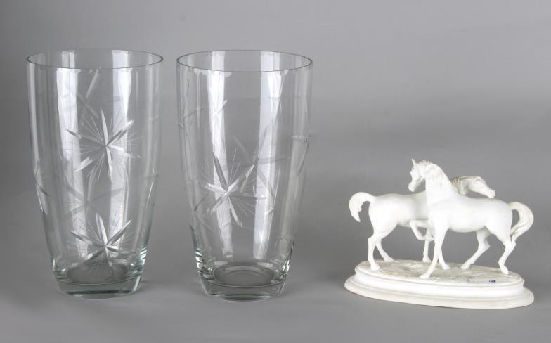 Semley Auctioneers Property Of A Gentleman Two Matching Glass