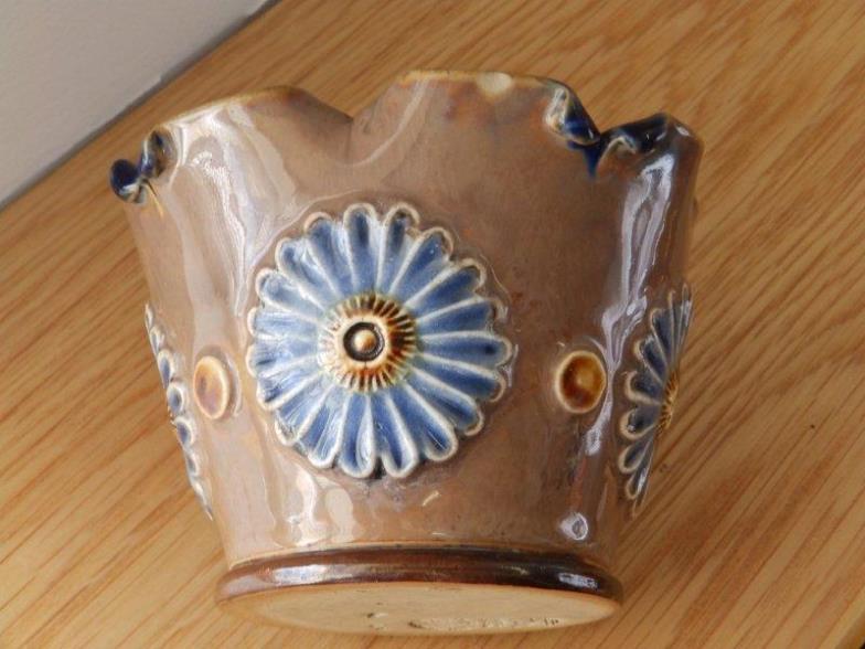 Michael Bowman A Royal Doulton Flower Form Vase 3 Online