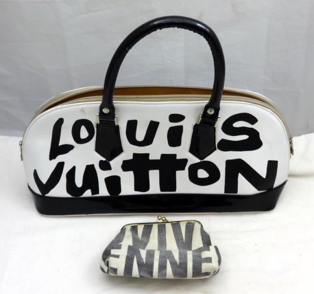 f32e319c17df Kent Auction Galleries Ltd   Bowling Ball Bag Marked Louis Vuitton ...