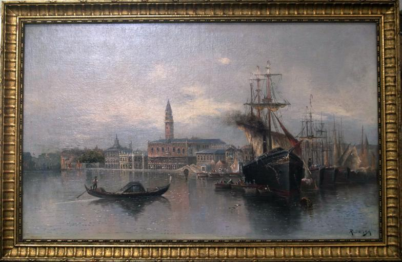 Golding Young Mawer Grantham R Domba Venice Oil On Canvas