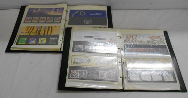 Kent Auction Galleries Ltd : Stamps: 2 x Stamp Albums