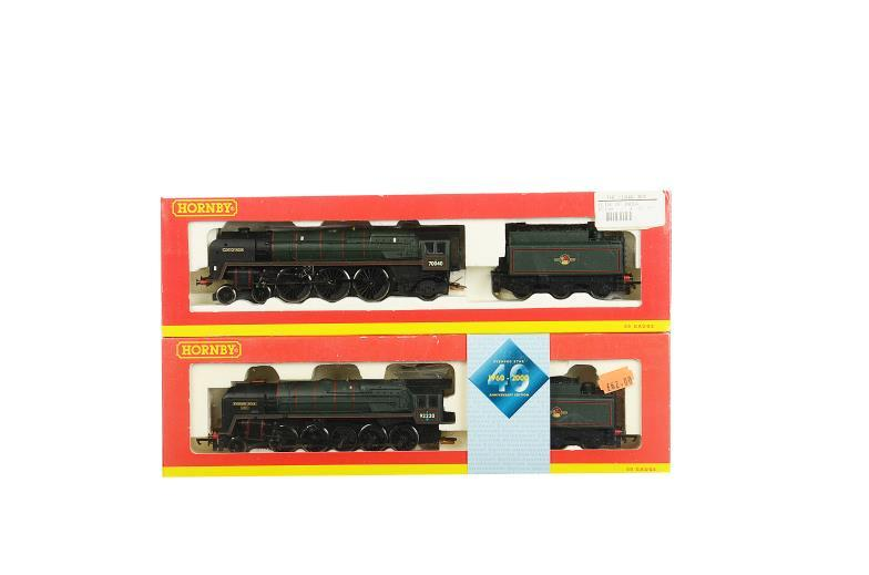 Special Auction Services : Two Hornby (China) 00 Gauge BR
