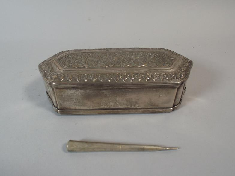 Brettells Auctioneers And Valuers An Islamic White Metal Scribe S