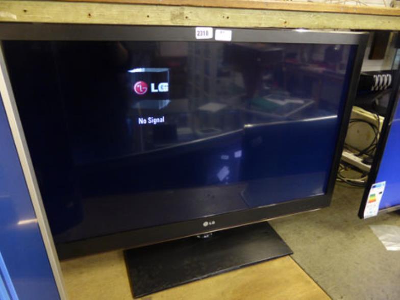 W&H Peacock : R9 LG 37'' TV set : Online Auction Catalogue