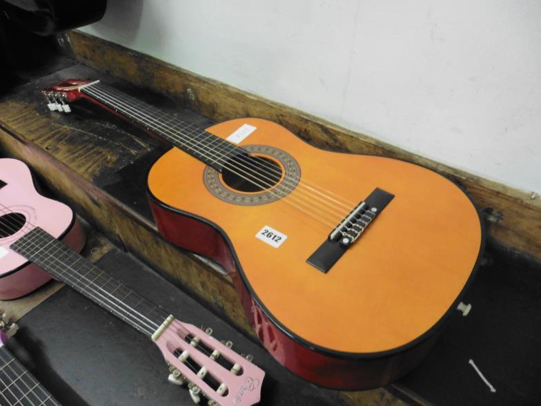 W H Peacock Small Martin Smith Acoustic Guitar Online Auction