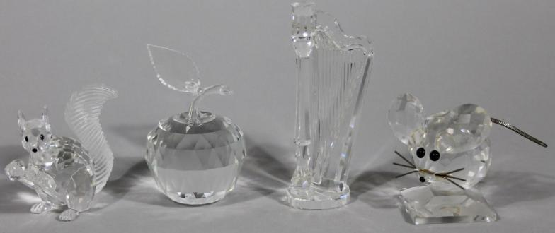 97bb7e095 Golding Young & Mawer Grantham : Various Swarovski crystal animals and  ornaments, comprising : Online Auction Catalogue