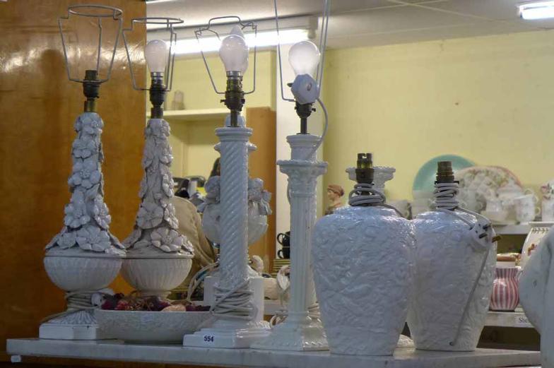 Casa Pupo' Columnar Ceramic Table Lamp