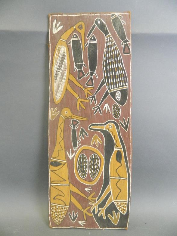 Crow S Auction Gallery An Australian Aboriginal Art Charlie