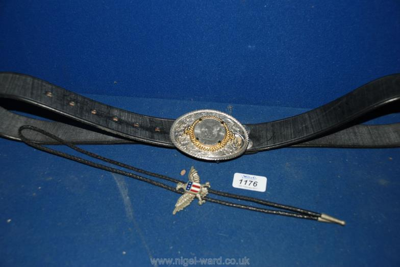 bd33b31754ca Nigel Ward   Co (Sale 1)   A Gentleman s leather Belt with a buckle being a  one   Online Auction Catalogue