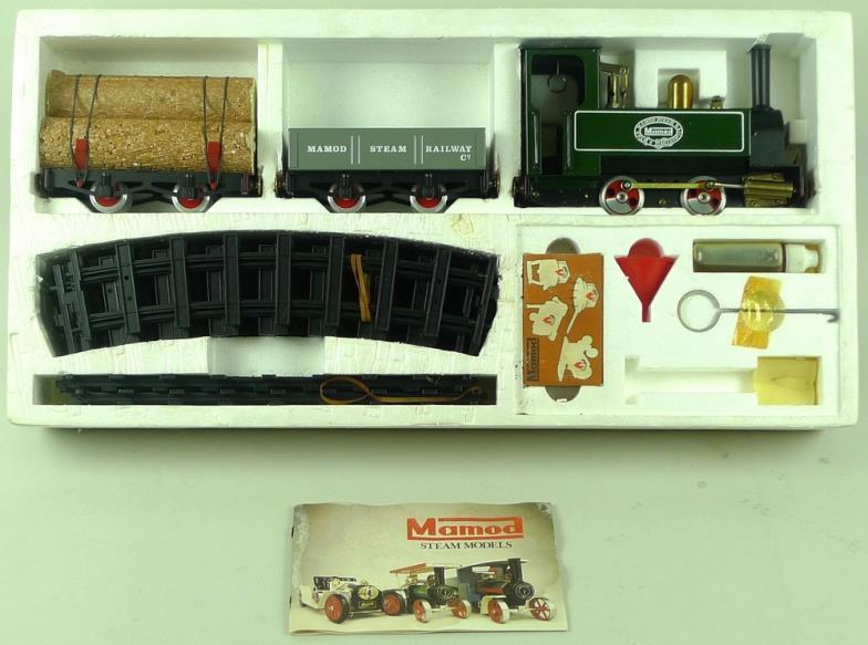 Batemans Auctioneers : A Mamod Steam Railway Company RS1