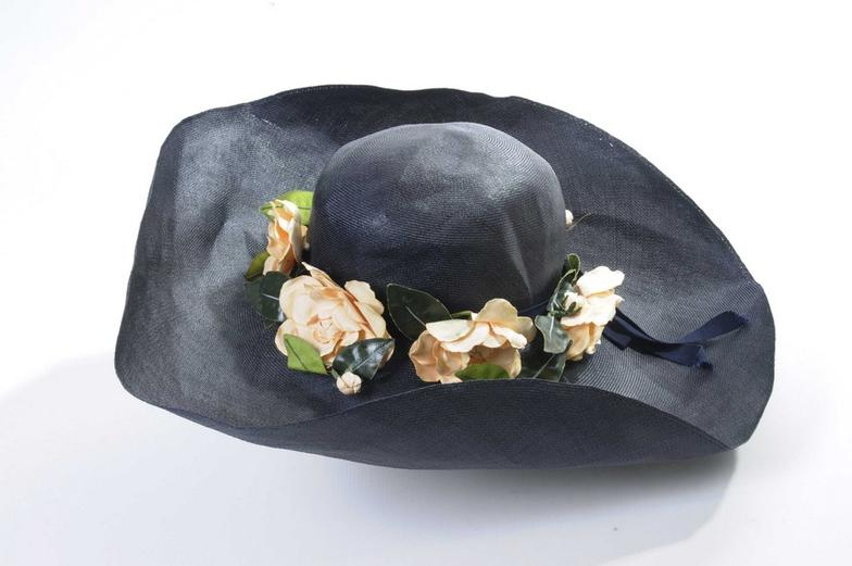 10d81660 Wright Marshall - Knutsford : A vintage Christian Dior ladies summer hat  The woven : Online Auction Catalogue