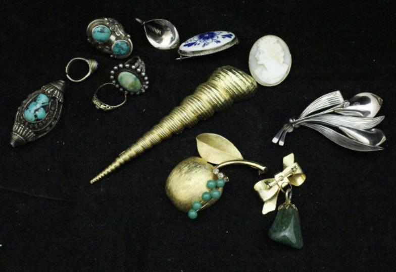Jewellery & Watches Mixed Lots A Large Bag Of Various Costume Jewellery