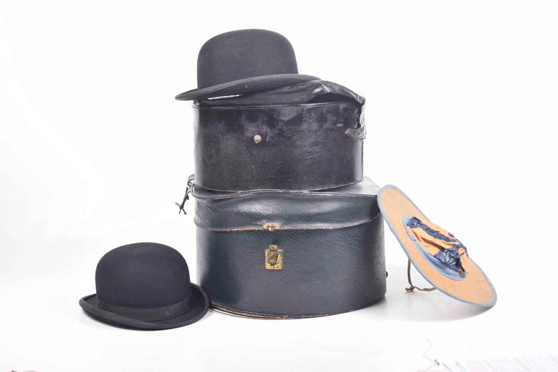 234abce74e140 Wright Marshall - Beeston   Two hunting bowler hats