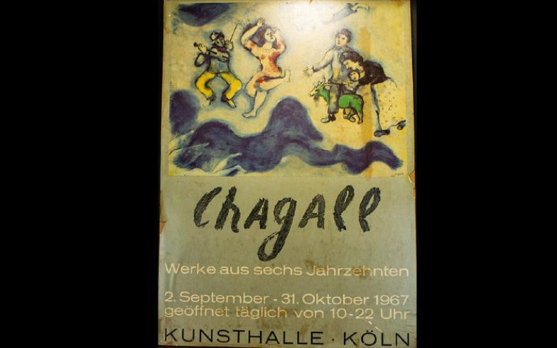 Gerrards Auctioneers Valuers A 1967 Marc Chagall Colour Poster