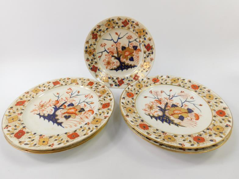 Golding Young & Mawer Bourne : Seven Crown Derby porcelain early