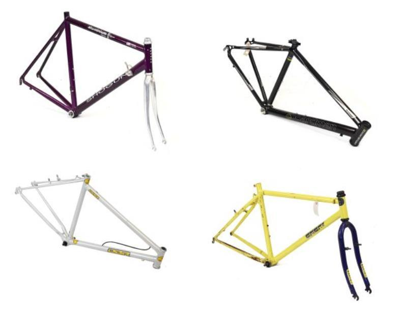 Clevedon Salerooms : Mountain bike frames - A Chris Boardman